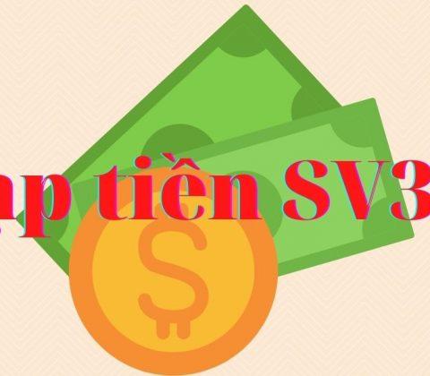 Các bước nạp tiền SV388 nhanh chóng nhất