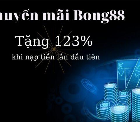 Khuyến mãi 123% dành cho thành viên mới